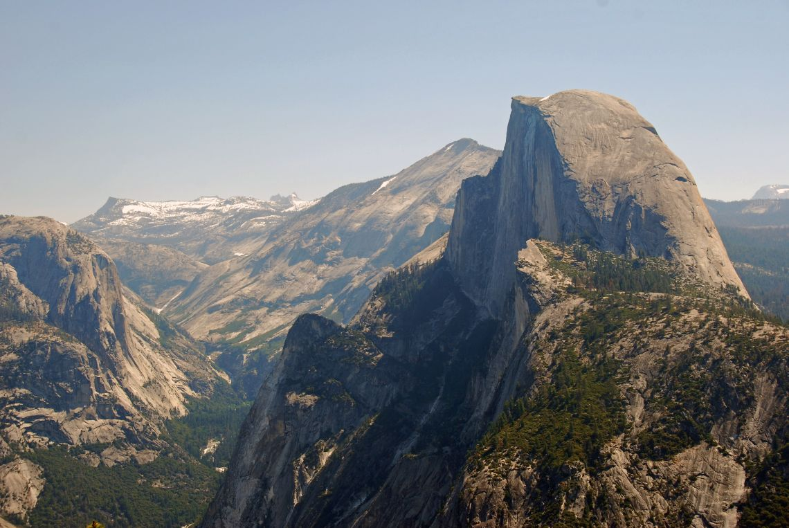 Yosemite National Park - Mirador de Glacier Point, vistas al imponente Half Dome.