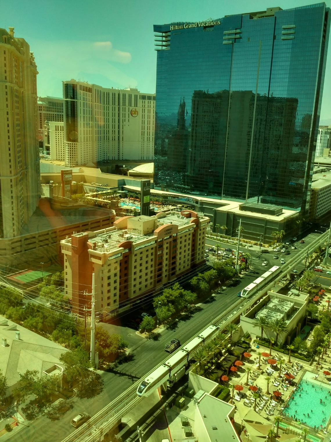 las vegas vistas desde the signature at mgm grand