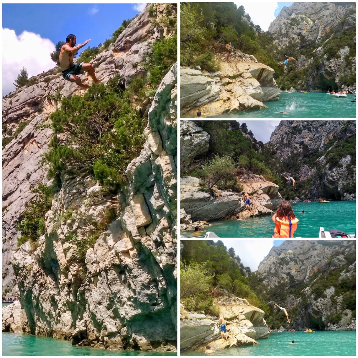 gorges du verdon cliff jumping 2