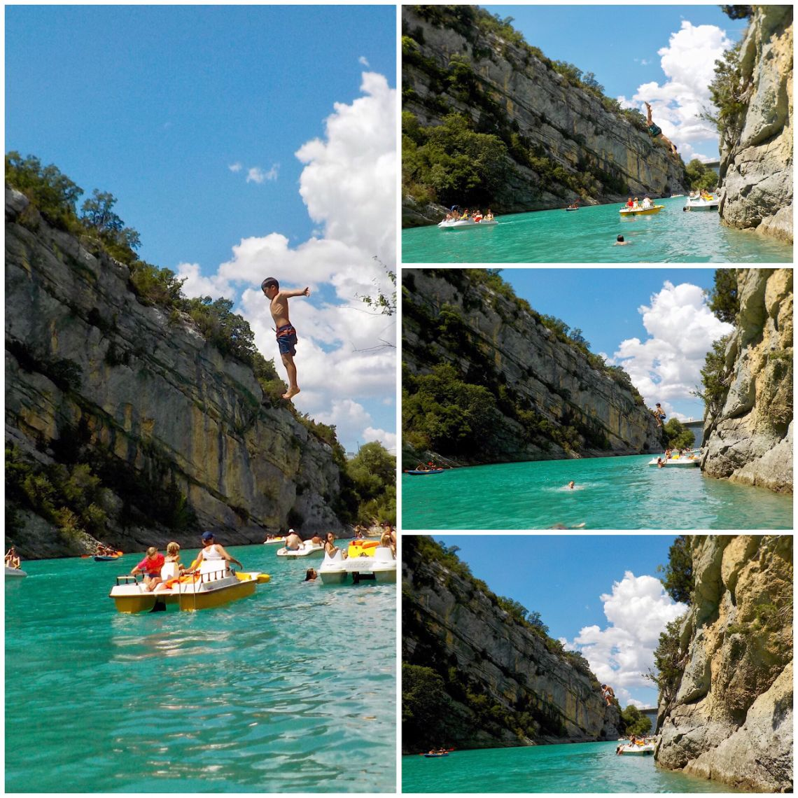gorges du verdon cliff jumping